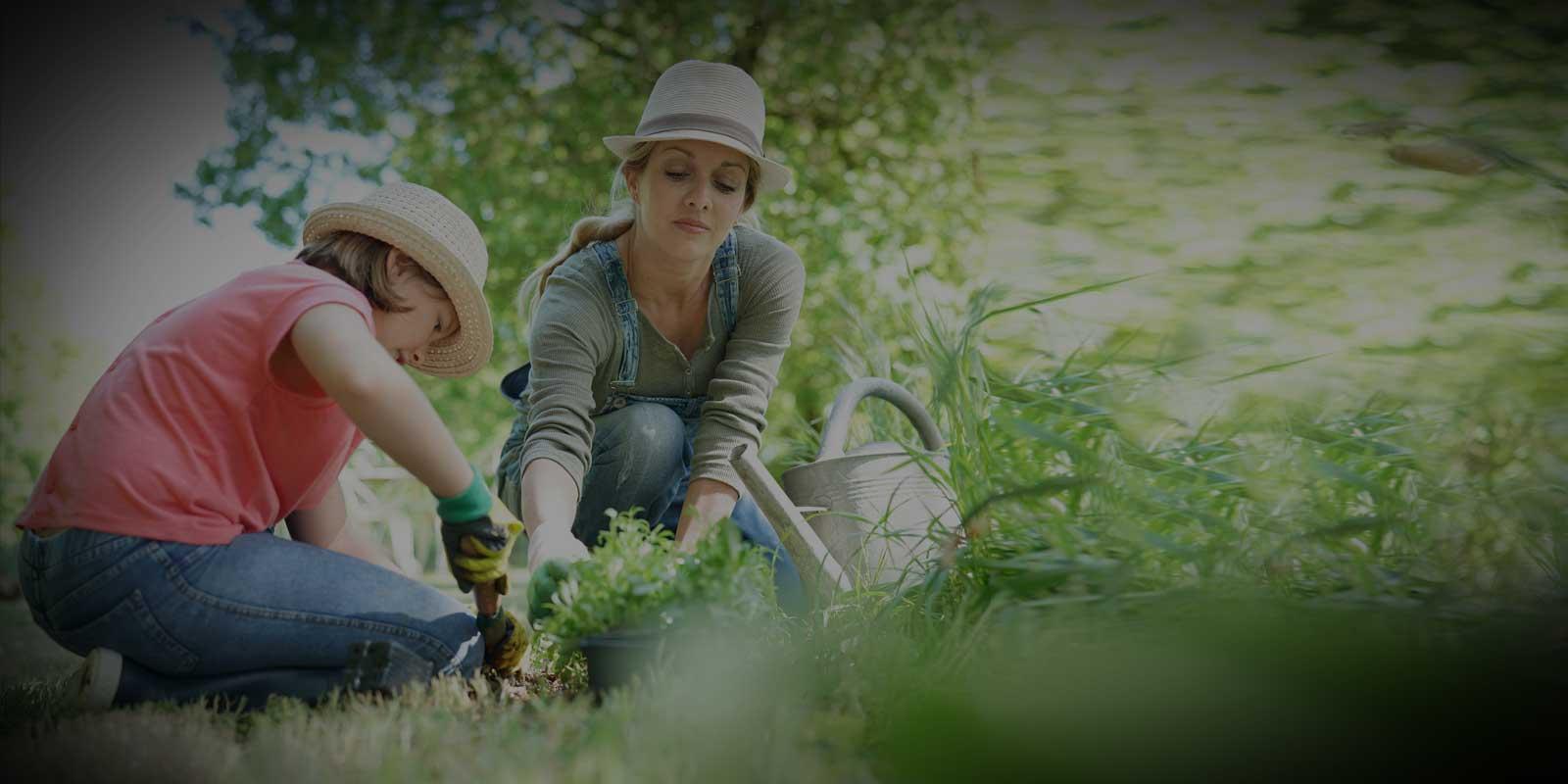 women-planting